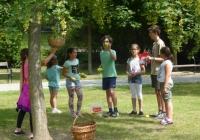 csapatjáték a játszótéren