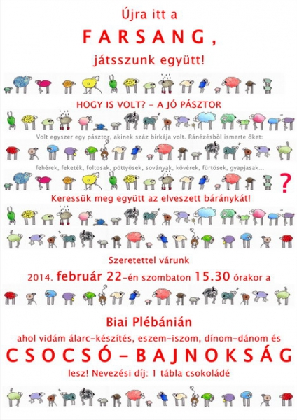 2014-Farsang plakat