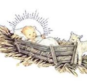 Kis Jézus jászolban