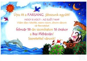 farsangi plakát 2012