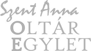 Szent Anna Oltáregylet logója