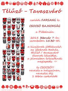 Farsangi plakát 2015
