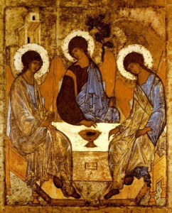 Andrej Rubljov: Szentháromság