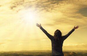 Nő hálaadó imája Teremtőjének
