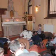 Szentségimádás gyerekeknek az Örökimádás-templomban